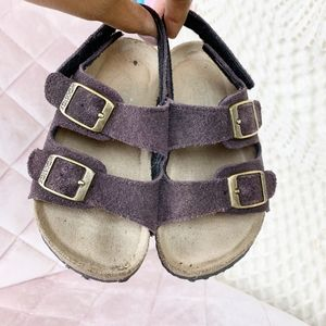 Woodstock suede Bret two trap sandal toddler 9